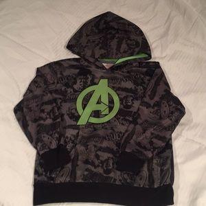 Boys avenger hoodie